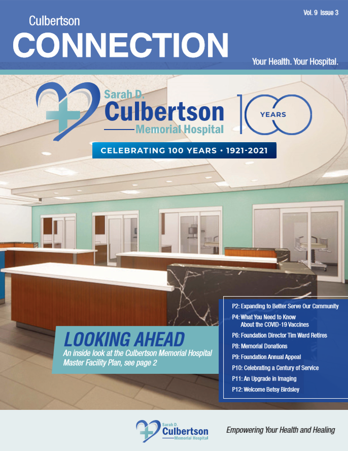 Culbertson Connection Summer 2019